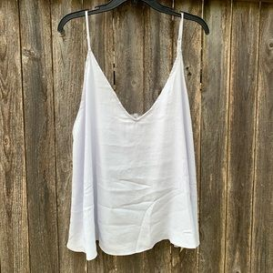 Free People  NWT Deep V Bandeau Cami l Large